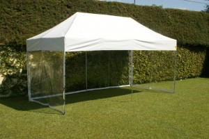 Tenda com Laterais Transparente